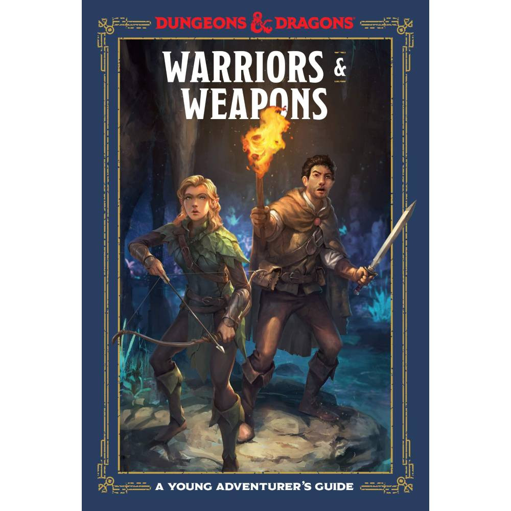Ghid Dungeons & Dragons Young Adventurer's Guide Warriors & Weapons