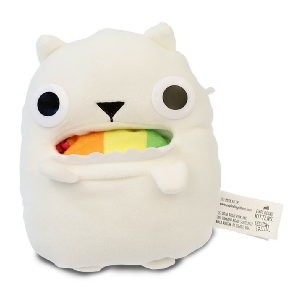 Figurina de Plus Exploding Kittens Rainbow Ralphing Cat