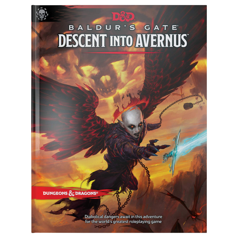 Carte D&D Baldur's Gate Descent into Avernus Adventure Book