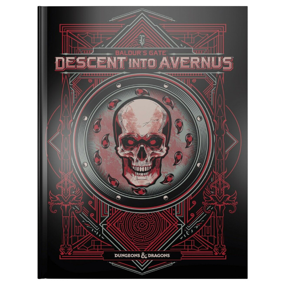 Carte D&D Baldur's Gate Descent into Avernus Adventure Book Alternate Cover
