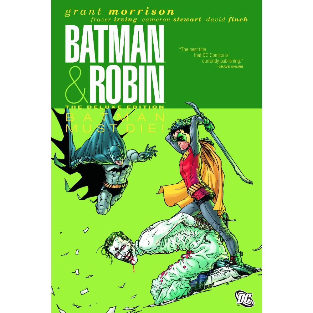 Batman & Robin Deluxe HC Vol 03: Batman Must Die