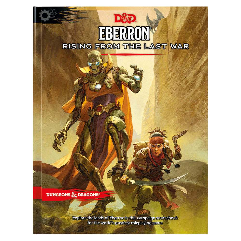 Carte D&D Eberron Rising From the Last War Adventure Book