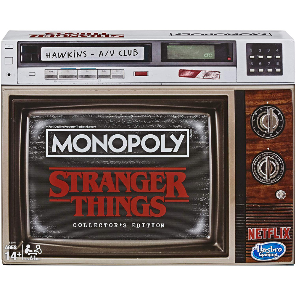 Joc Monopoly Stranger Things Collector's Edition