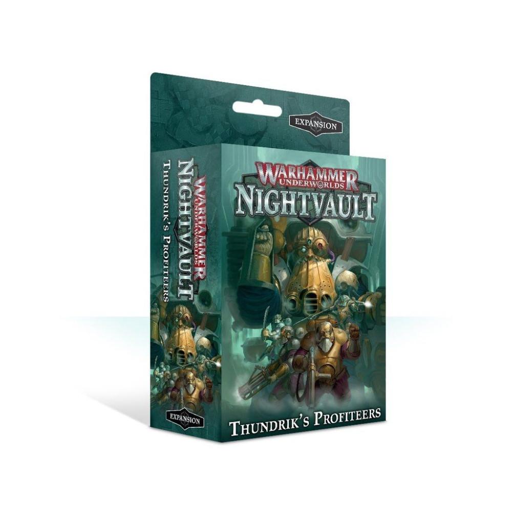 Expansiune Warhammer Underworlds Nightvault Thundrik's Profiteers