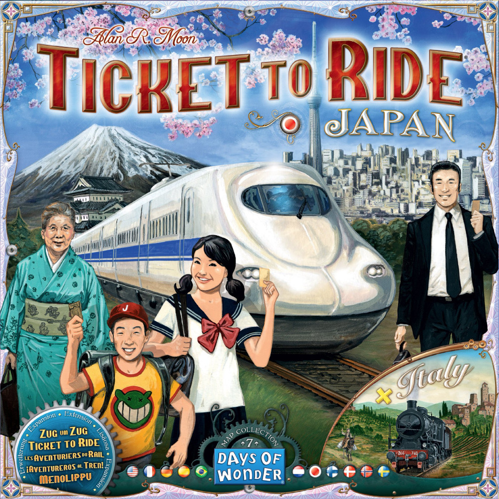 Expansiune Ticket to Ride Map Collection Volume 7 Japan & Italy