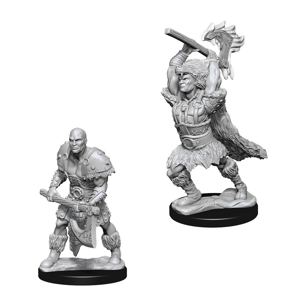 Miniaturi Nepictate D&D Nolzur's Marvelous Male Goliath Barbarian