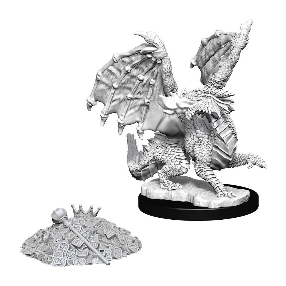 Miniaturi Nepictate D&D Nolzur's Marvelous Red Dragon Wyrmling