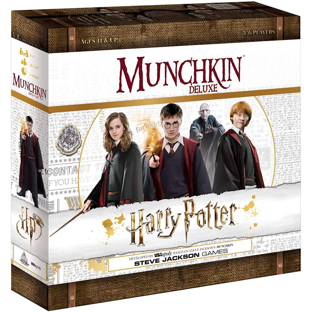 Joc Munchkin Deluxe Harry Potter