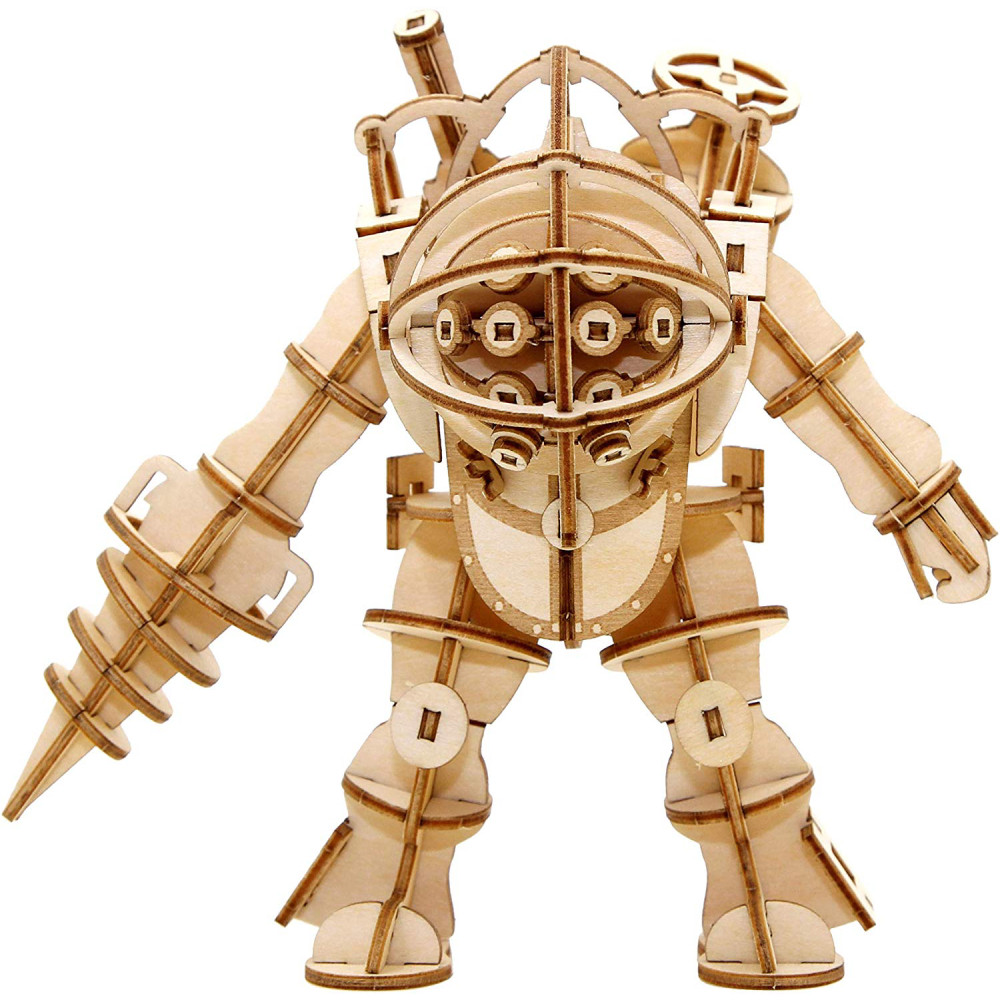 Figurina Kit de Asamblare din Lemn BioShock IncrediBuilds 3D Big Daddy