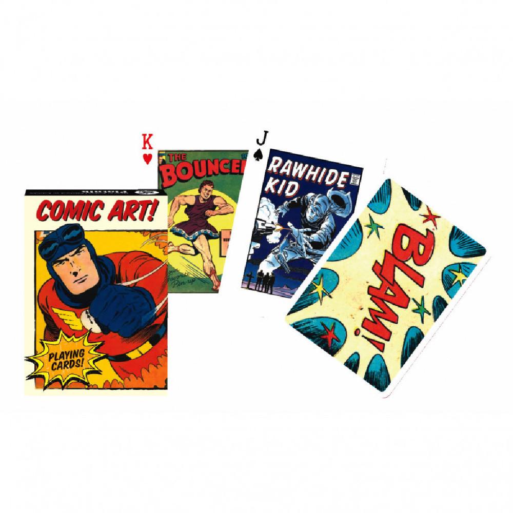 Carti de Joc Vintage Comic Art