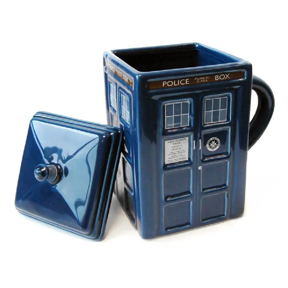 Cana 3D Doctor Who Tardis