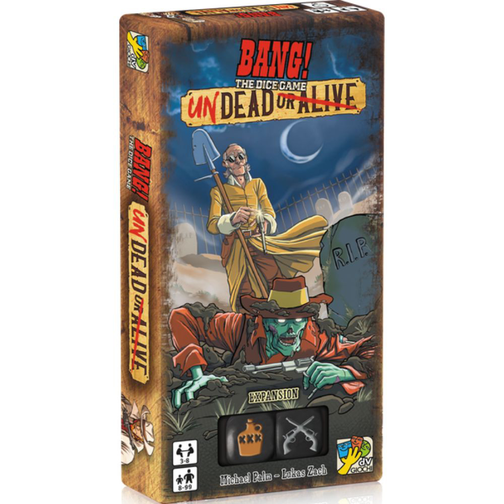 Expansiune BANG! The Dice Game Undead or Alive