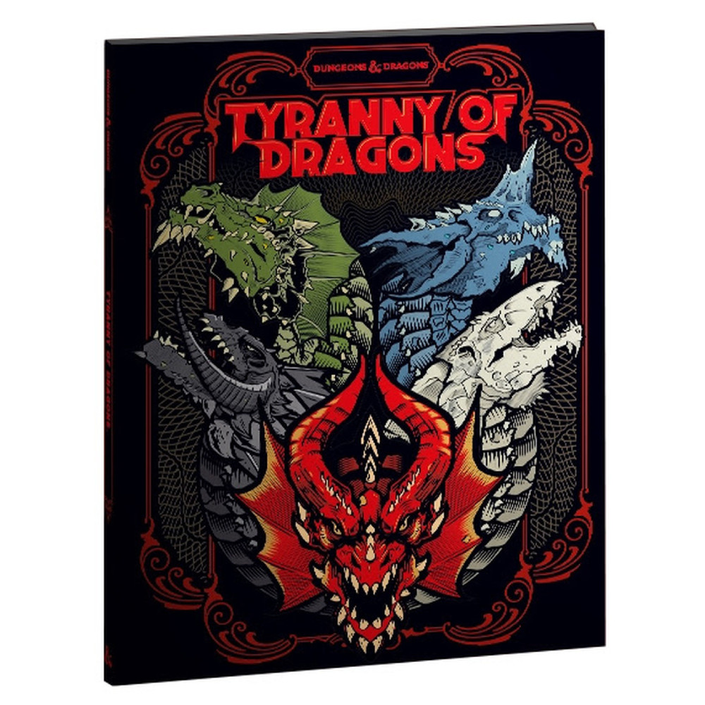 Ghid Dungeons & Dragons Icons of the Realms Tyranny of Dragons Coperta Alternativa