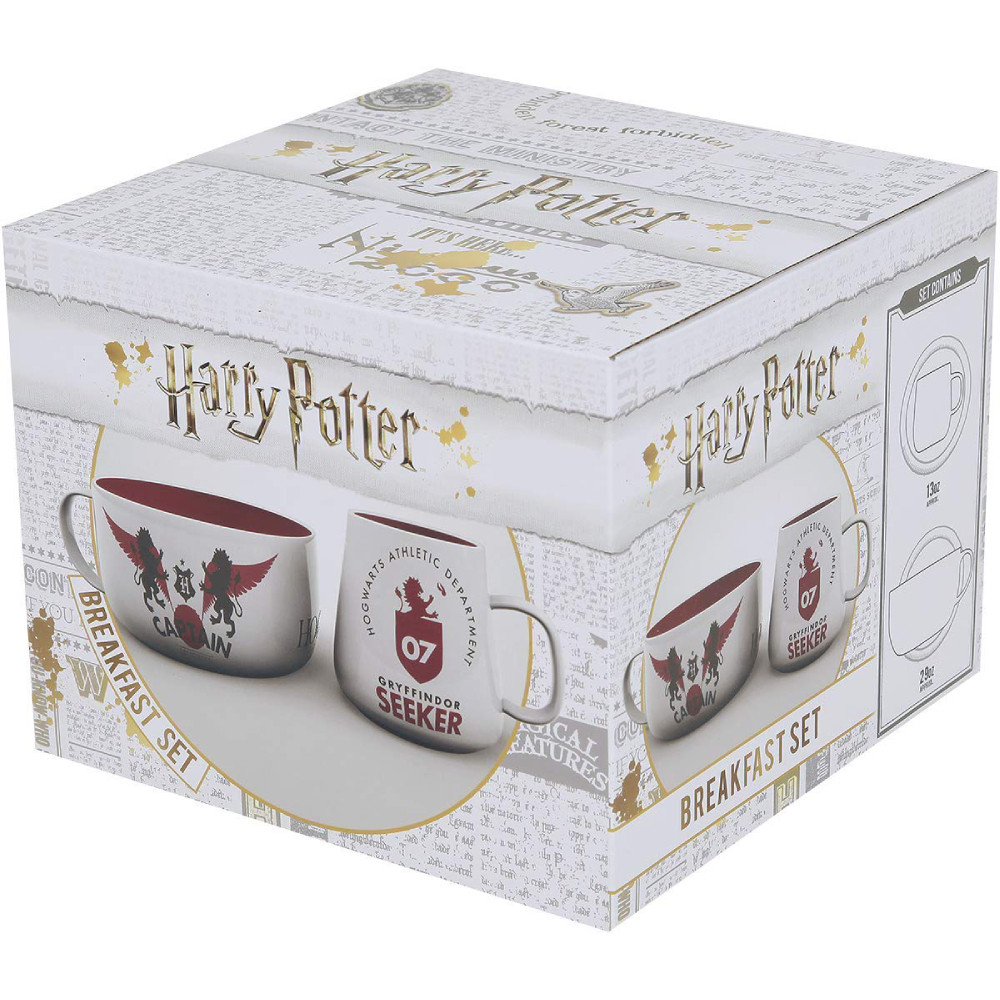 Set Mic Dejun Harry Potter Quidditch