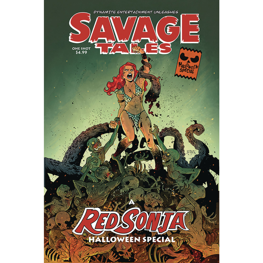 Savage Tales Halloween Special One Shot 00 Cvr A Durso