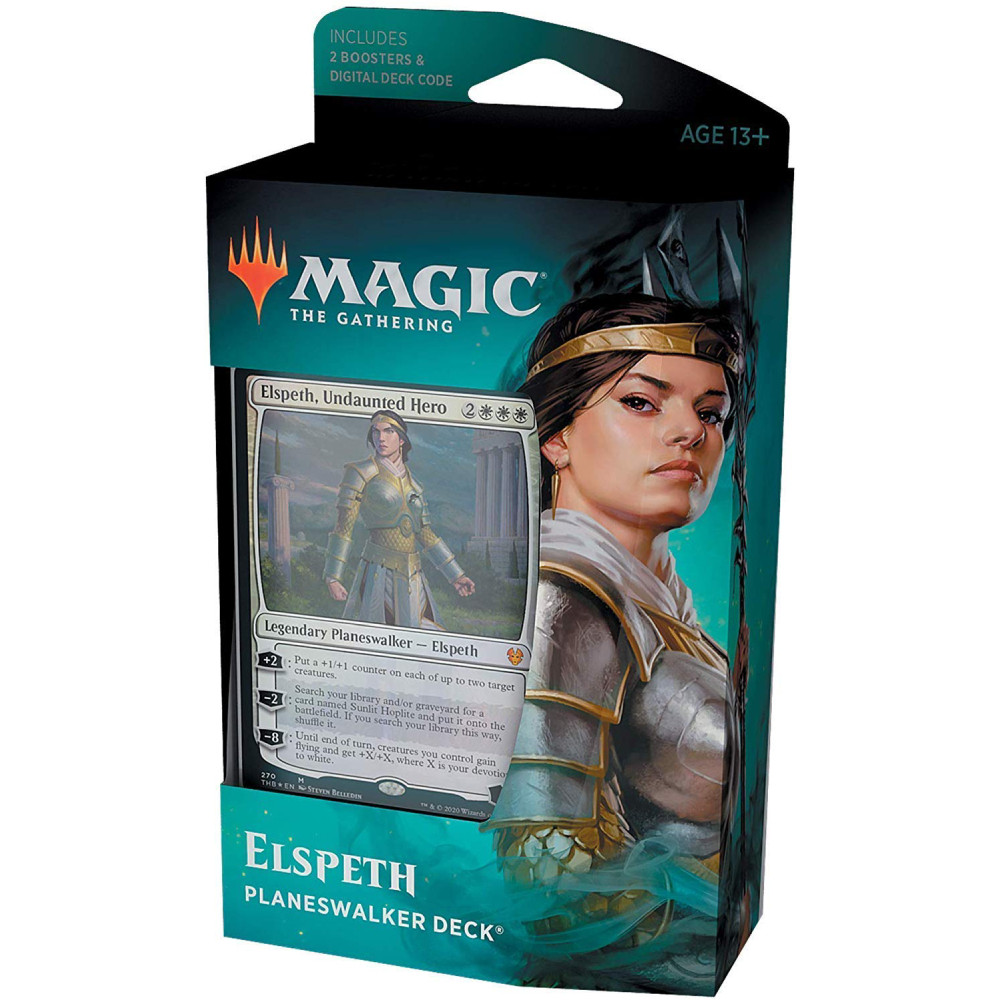 Pachet Magic: the Gathering Theros Beyond Death Elspeth, Undaunted Hero
