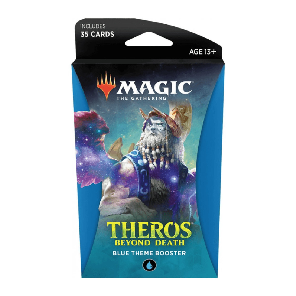 Pachet Magic: the Gathering Theros Beyond Death Theme Booster Albastru