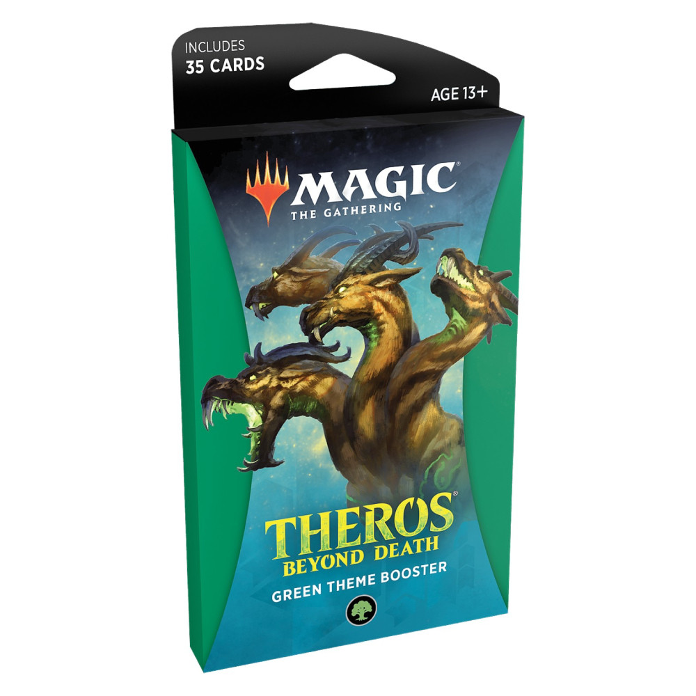 Pachet Magic: the Gathering Theros Beyond Death Theme Booster Verde