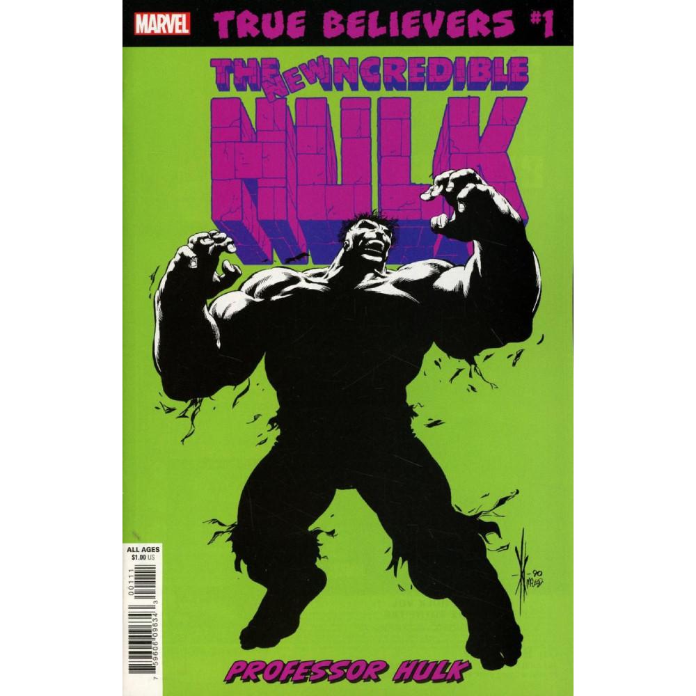 True Believers Hulk Professor Hulk 01