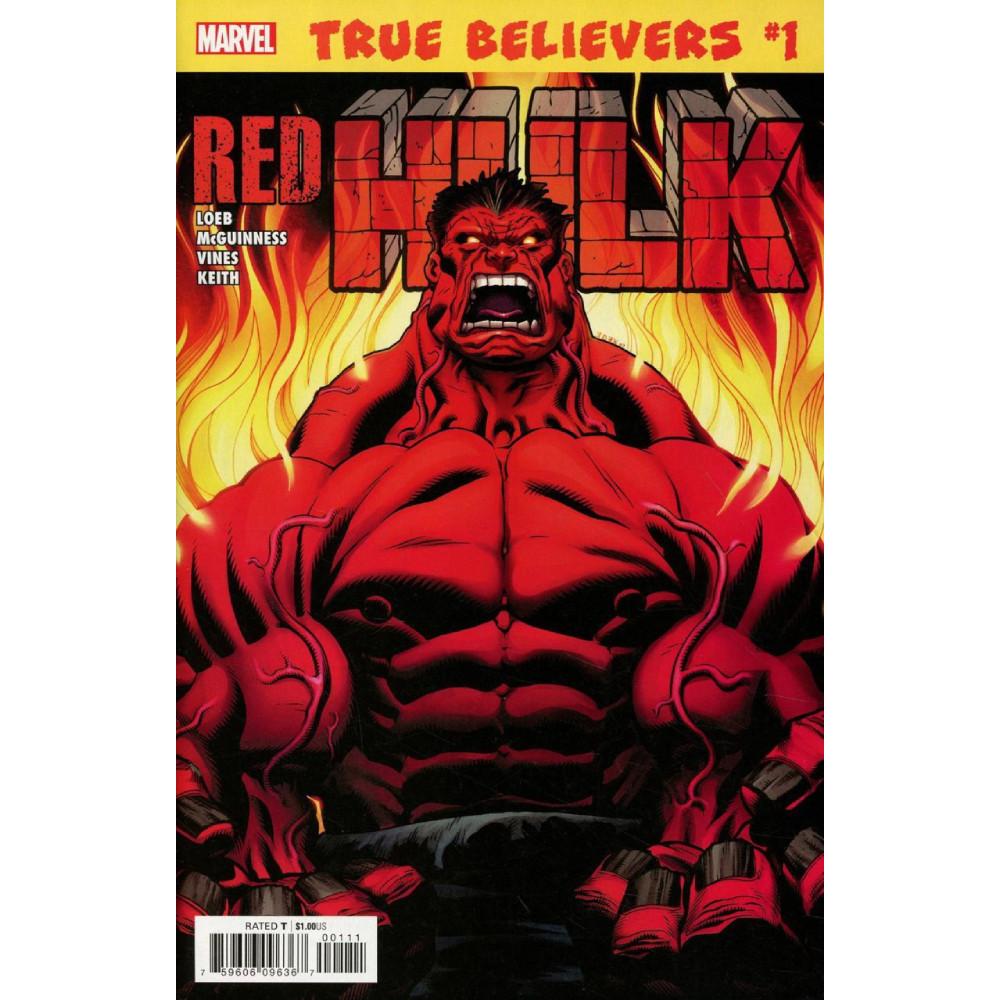 True Believers Hulk Red Hulk 01