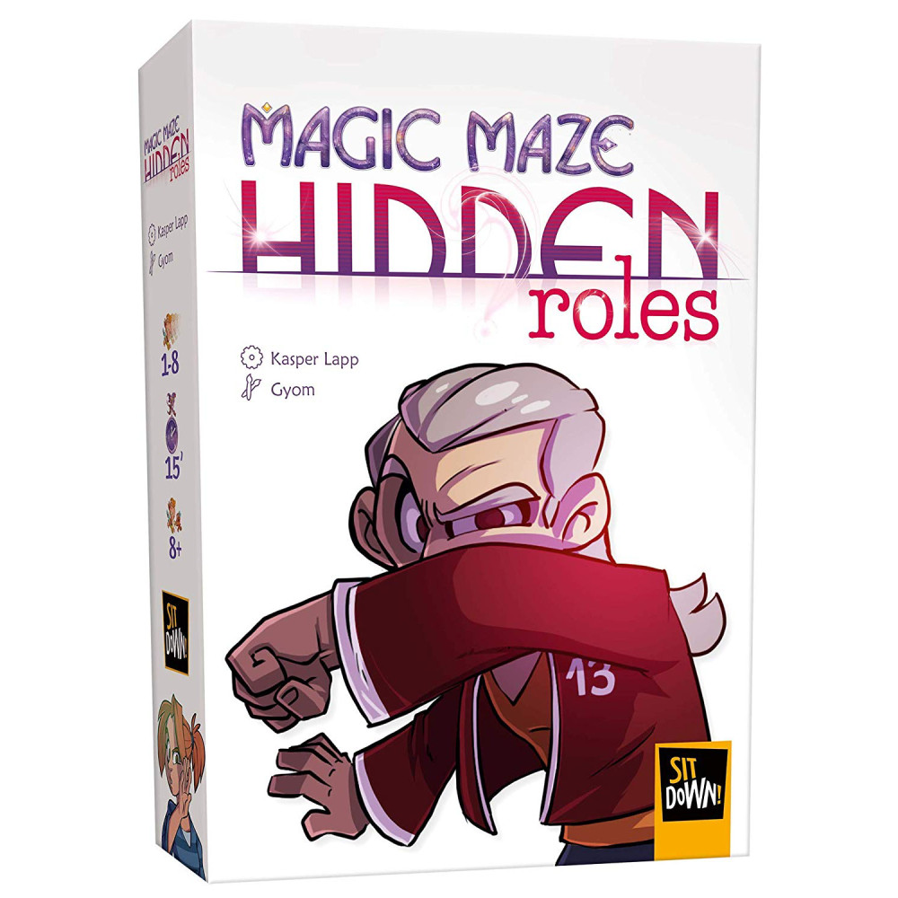 Expansiune Magic Maze Hidden Roles