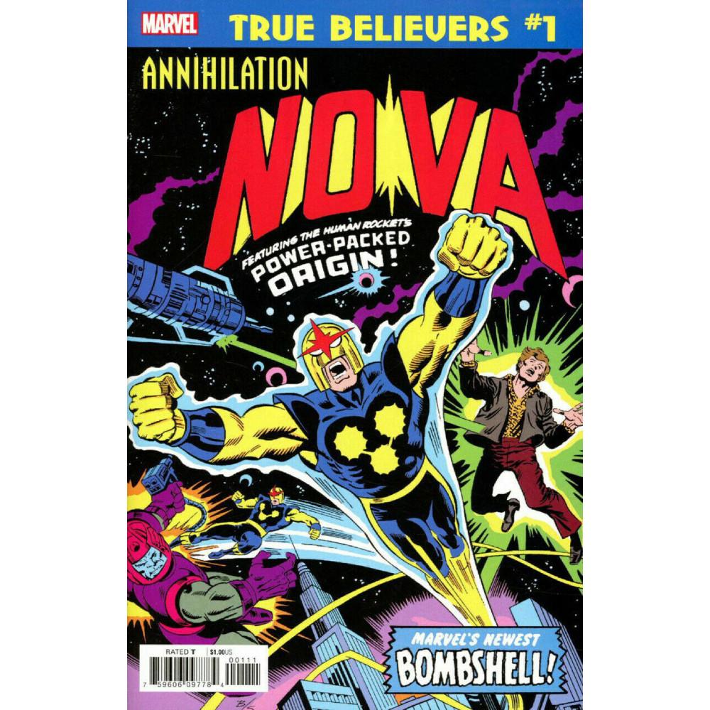 True Believers Annihilation Nova 01