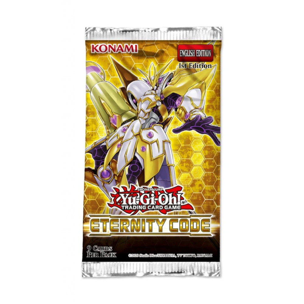 Yu-Gi-Oh! Eternity Code Booster Pack