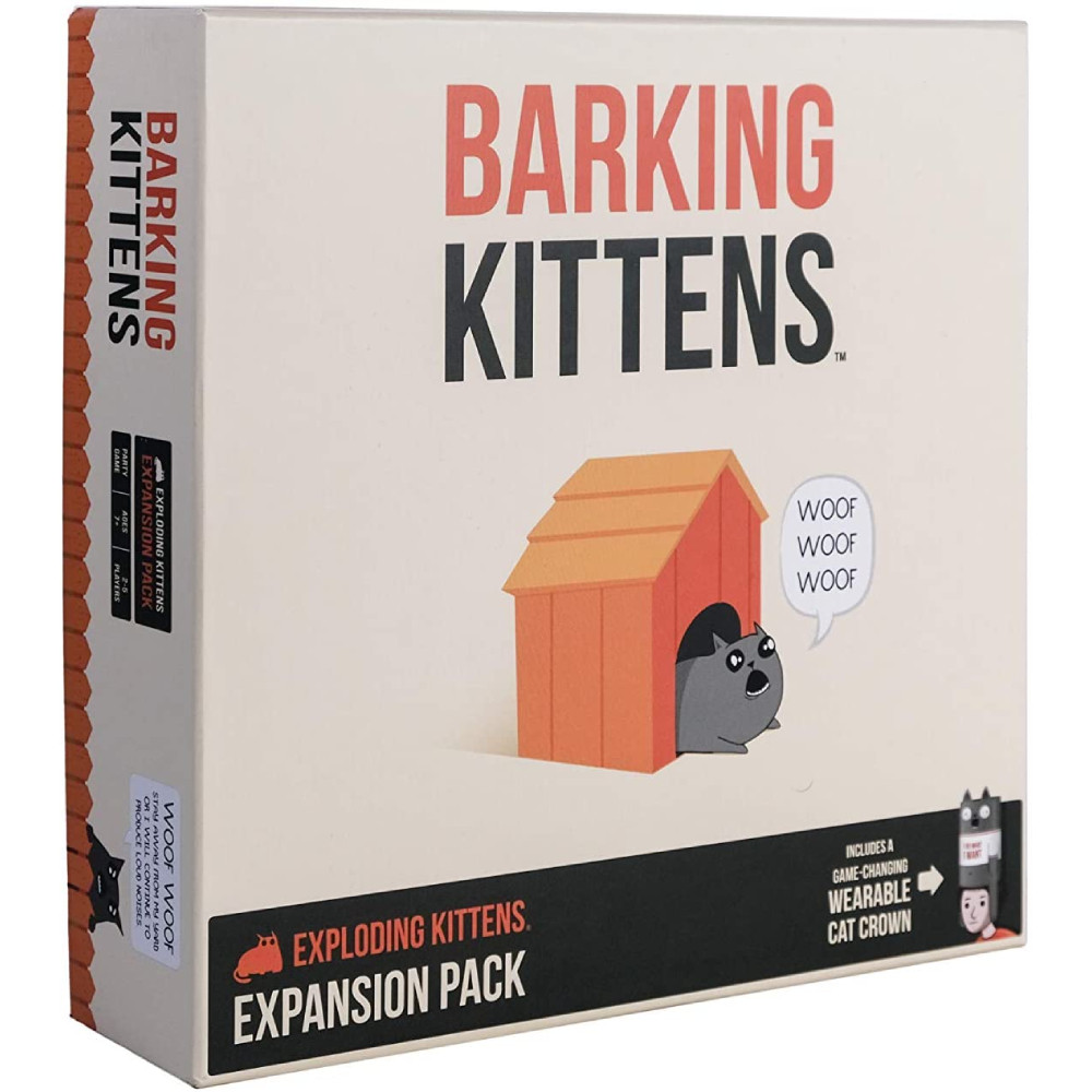 Exploding Kittens Barking Kittens