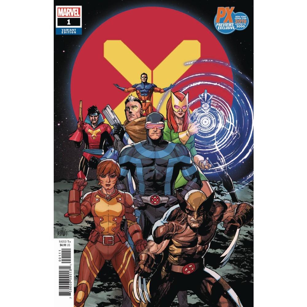NYCC 2019 X-Men 01 Yu Var Dx