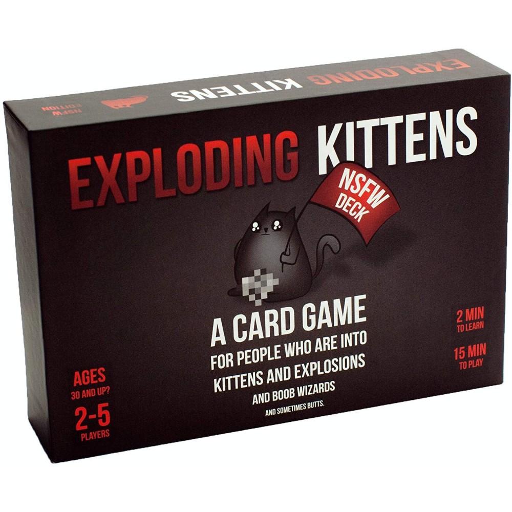 Exploding Kittens Not Safe For Work