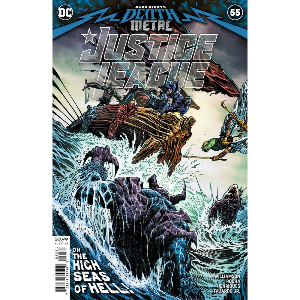Justice League 55 (2020) Cvr A Liam Sharp