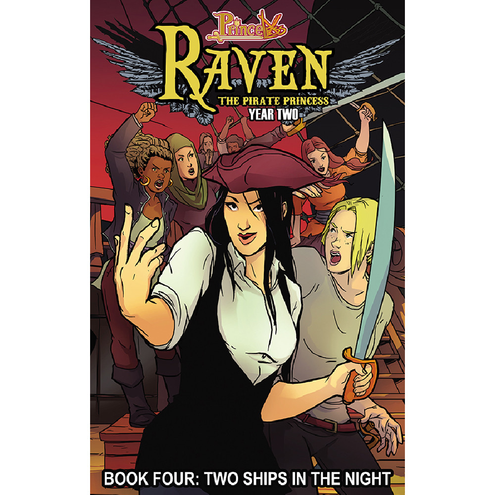 Princeless Raven The Pirate Princess Year Two 04