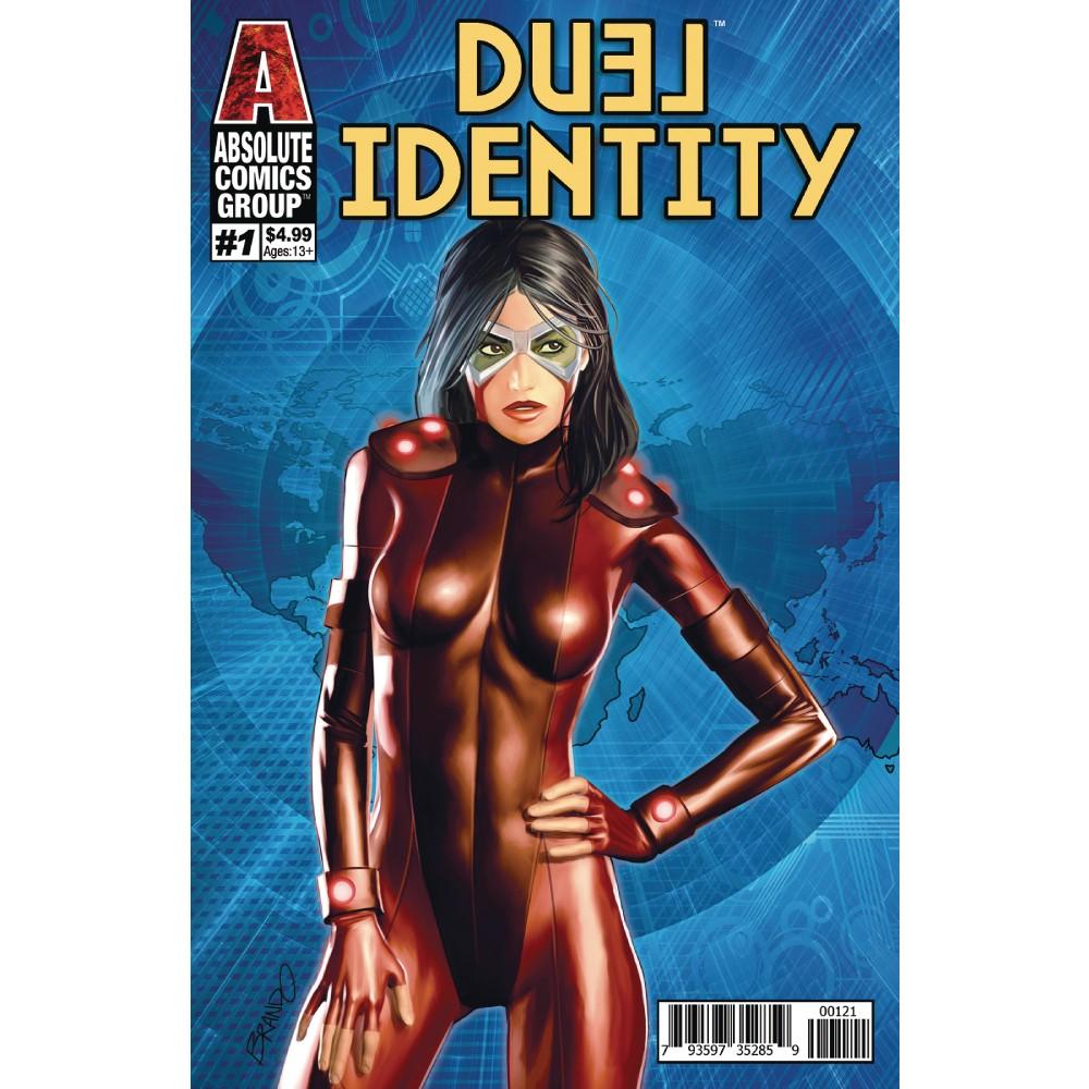Duel Identity 01 Holographic Gold Foil Cvr