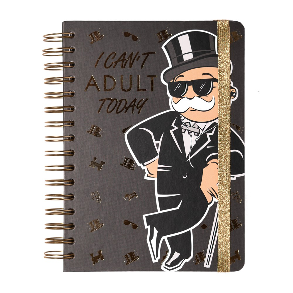 Notebook cu Sina A5 Hard Cover Monopoly