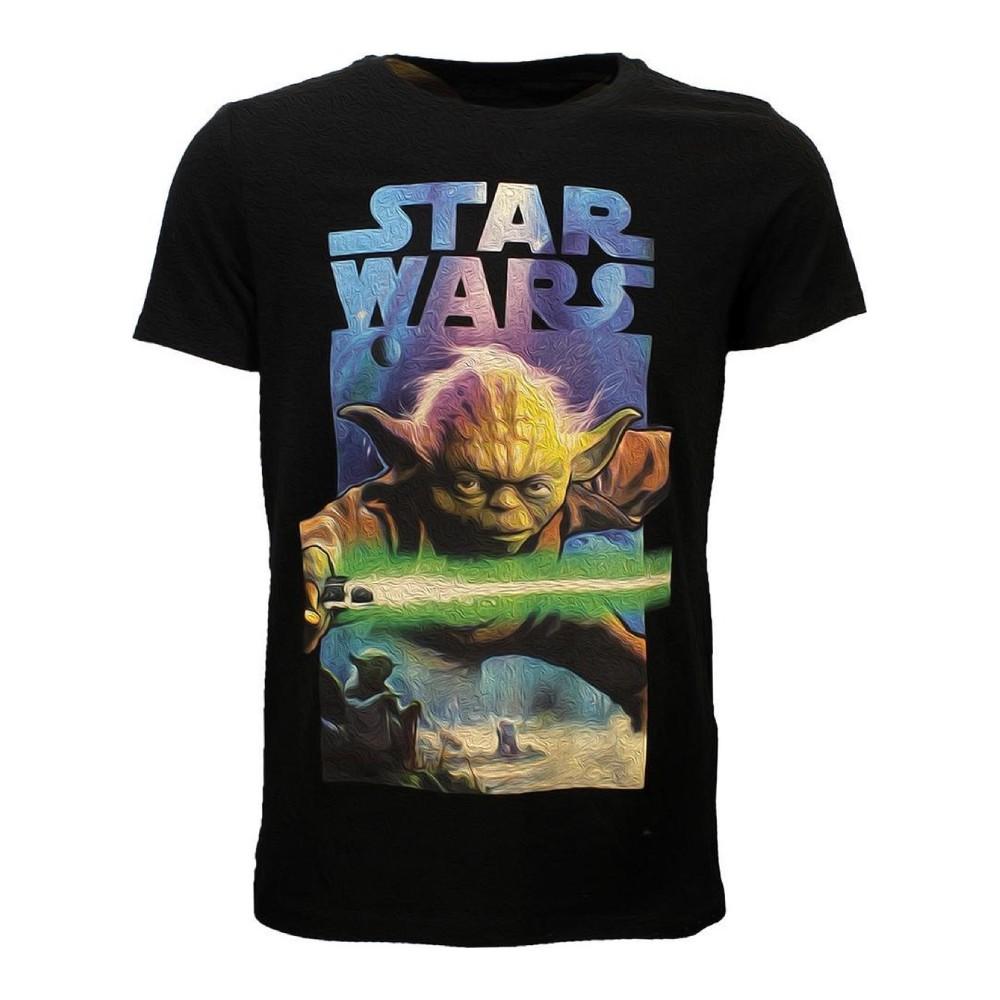 Tricou Star Wars - Yoda Poster L image0
