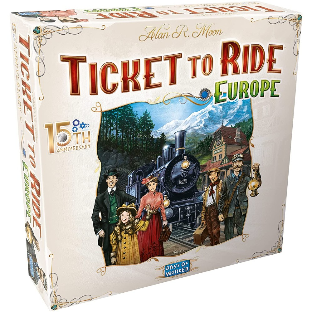 Ticket to Ride Europe – 15th Anniversary